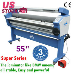 Qomolangma 55 Full-auto Wide Format Cold Laminator Machine With Heat Assisted