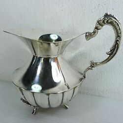 A Beautiful Small Vintage Jug Sterling Stamped And Hazorfim Hallmarked