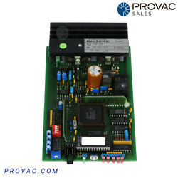 Balzers Tcp-035pcb Turbo Pump Controller W/ Cable Rebuilt By Provac Sales Inc.