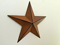Primitive Country Home Decor -tin Barn Star- Rust- 18 Or 24 Inches- Wall Decor