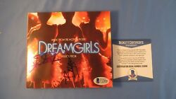 Beyonce Knowles Signed Dreamgirls CD Cover BAS COA Autograph Anika Noni Rose