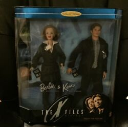 Barbie And Ken----the X Files----dana Scully------fox Mulder-----------nrfb