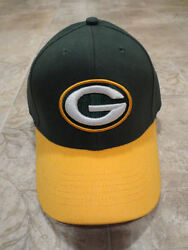 Nfl Green Bay Packers Baseball Cap Hat, Green And Gold 62