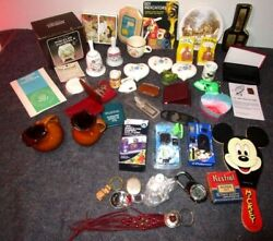 Lg Lot Vintage Trinkets Knick Knacks Small Collectables Cameras Miniatures Watch