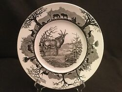Wedgwood Kruger National Park With Map Dinner Plate Roan Antelope