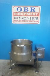 CLEVELAND 40 GALLON SELF-CONTAINED GAS STEAM JACKETED