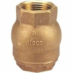 Nibco Nl9308c T-480 Threaded 1-1/2 In-line Bronze Ring Check Valve