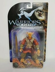 Playand039em Warriors Of Virtue Tsun 6 Inch Action Figure 1997 Security Of Earth Nib