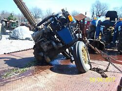 Iseki Ts2205 Compact Tractor For Parts Or Will Sell Parts Off It