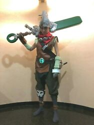Ekko Cosplay Costume With Armour And Shoes Ekko League Of Legends Costume