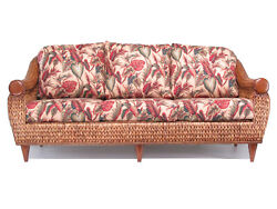 Rattan And Hyacinth Living Room Furniture Sofa Couch