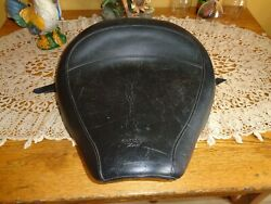 Vintage Mustang Scooter/motorcycle Partially Studded Solo Saddle Good
