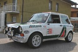 Autobianchi A112 Abarth Alitalia Decals Stickers Adesivi