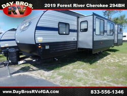 19 Forest River Cherokee West 294BH RV Camper Towable Travel Trailer Bunkhouse