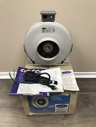 Can Fan 6 inch RS6HO 440 CFM Hydroponics Ventilation High Output Inline Exhaust