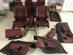 BMW OEM E63 M6 650I COUPE 2006-10 SET INTERIOR SPORT HEATED ACTIVE SEATS SEAT