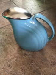52 VINTAGE CHINA POTTERY PITCHER JUGS ETC  ALL COLORS MANY VINTAGE HALL ITEMS