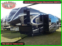 19 Grand Design Momentum 399TH Fifth Wheel Trailer Towable Camper RV Toy Hauler
