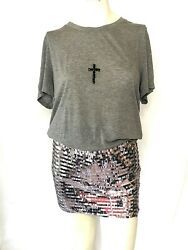 Filles A Papa Womens Skirt/top Sold Separately