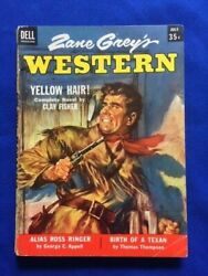 Zane Grey's Western. July 1953 - 1st. Ed. Contains Clay Fisher's Yellow Hair