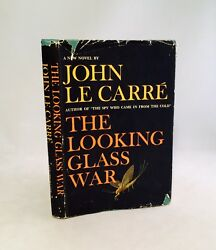 The Looking Glass War-john Le Carre-signed-first/1st Bce-1965-hc/dj-very Rare