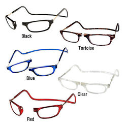 CliC Magnetic Reading Glasses; Hangs around neck snaps closed Adjustable $34.95