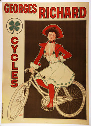 Georges Richard - Original Vintage Bicycle Poster - Cycling - Fernel