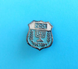 Israel Noc For Olympic Games Melbourne 1956. - Vintage Olympics Pin Badge Rrr