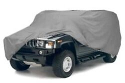 Economy Hummer Cover For Standard H3 W/o Spare Tire