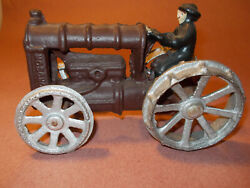 Cast Iron Fordson Toy Tractor