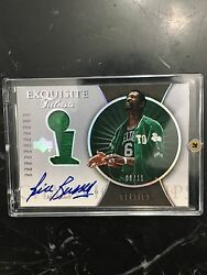 BILL RUSSELL AUTO AUTOGRAPH EXQUISITE TITLEISTS # 811 Rare 1OF1 11