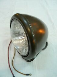 Sealed Beam Vintage Headlamp ,nos Working Perfectly.old Dodge Truck