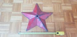 Ultra Rare Croatia War For Independence Red Star From Barracks Entrance
