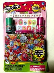 Brand New SHOPKINS Cosmetic Kit Girls Teens Nail Kit $5.95
