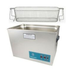 Crest P2600d-45 Ultrasonic Cleaner W/ Power Control-perf Basket