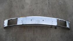 Nla Used Porsche 914 1970-1976 Front Chrome Bumper Late Style For Guards German
