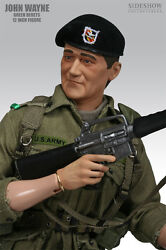 1/6 Scale John Wayne Green Berets, Ltd Edition Figure Rare And Sold Out, N E W