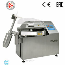 Talsa K80neo PP Commercial 80 Gal Bowl Chopper  Cutter - Three Phase 220V