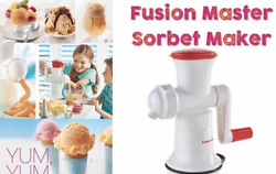 Tupperware New Fusion Master Sorbet Maker System Make Healthy Ice Cream At Home