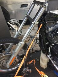 2007 Harley Fxs T Softail- Straight Front Forks Leggs