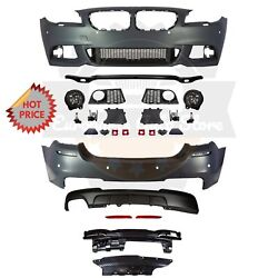 Bmw F10 Msport Style Front And Rear Performance Bumper For 11-13 Bmw F10 528i Pdc