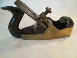 Vintage G. Musgrave Lincoln Coffen Smoothing Plane.