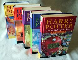 Very Rare Harry Potter Philosophers Stone 1st-1st Uk Hb First Edition Bloomsbury