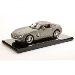 Mercedes Benz Sls Gullwing 118 Maisto Crystal New In The Box