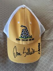 Tom Selleck Autographed Nra Hat Brand New Never Worn Bas Coa Extremely Rare Item