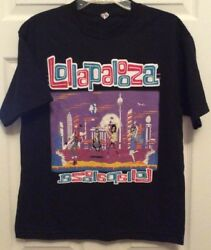 Lollapalooza Concert Tour T Shirt Size M Blink 182 Arcade Fire The Shins Muse