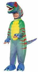 Sly Raptor Dinosaur Cute Animal Fancy Dress Up Halloween Toddler Child Costume
