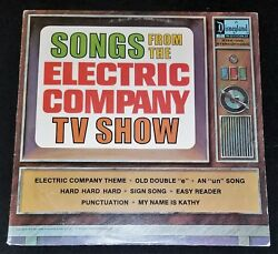 Lp Disneyland Songs From The Electric Company Tv Show Ster-1350 Ex Vg Disney