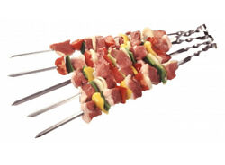 Bbq Stainless Steel Skewers Spits Set 21 Kinds Barbeque Shashlik Mangal Grill