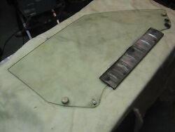 Corvette C-3 Right Side Door Glass 68 Only Astro Date Coded Nx Coupe Non Tint